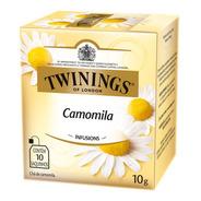 Chá Twinings Camomila 10 Sachês