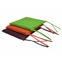 Almohadones Para Sillas Eco Cuero X 6 Unidades