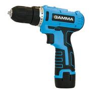 Taladro Atornillador Gamma G12101ar A Bateria 12vcc