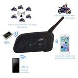 Intercomunicador Para Casco Moto Bluetooth, Envío Gratis