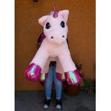 Unicornio Gigante De Peluche Fino Super Suave Envio Gratis