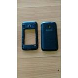 Tapa Y Carcasa Trasera Del Samsung Duos Gt-s6102 Negro