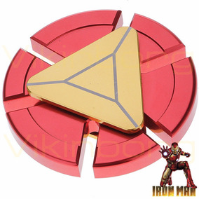 Spinner Fidget Iron Man Metalico Anti Stress Marvel Ironman