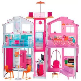 Real Super Casa Da Barbie 3 Andares Original Da Mattel Dly32