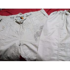 Pantalon De Dama Estilo Jogger Kaqui