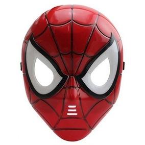 Homem Aranha Máscara Com Led Vingadores Heróis Marvel