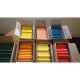 Caja De 80 Velas Grandes Colores Surtidos, Ventas Al Mayor