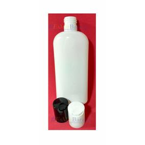 100 Pzs Envase Plastico Oval Blanco Pet 250 Ml Tapa Disktop
