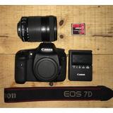 Canon 7d (usada)