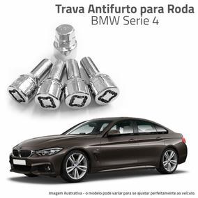 Trava Antifurto P/ Rodas Bmw Serie 5 535 550 540 M5 4 Peças