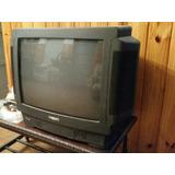 Televisor Tv Philips 21 Sin Entrada De Audio Video