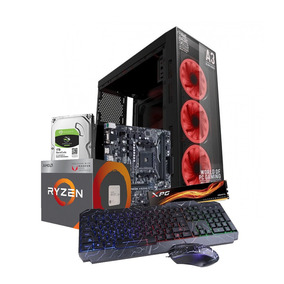 Pc Gamer Ryzen 3 8gb 1tb Kit Gamer Rgb Radeon Vega 8 Led