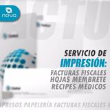 Talonarios De Facturas Hojas Membretadas Y Recipes Médicos