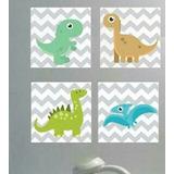 Retablos Infantiles Dinosaurios, Aviones, Infantiles Niños