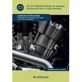 Libro Teoria De Los Motores Termicos Dinamica De Gases De Ro