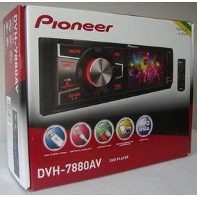 Dvd Pioneer 1 Din 3 Polegadas - Produto Novo - Dvh-7880av