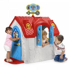 Casita Para Niños Paw Patrol Casa Infantil Exterior De Feber