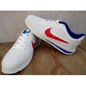 Estado De México. Tenis Nike Cortez Tricolor Chico Envio Gratis