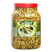 Aceitunas Verdes En Rodajas Clásicas X 1,5 Kg - Arilart
