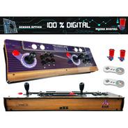 Fliperama Portátil Atari 100% Digital, 12 Mil Jogos + Brinde