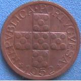 Spg Portugal 10 Centavos 1952.