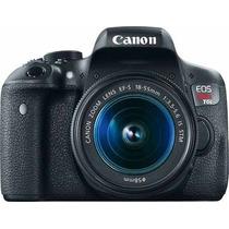 Camara Canon Wifi T6i 18-55 + Memoria 8gb C10