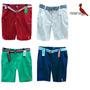 Shorts Masculino Moletom Sarja Jeans Osklen Polo Redley