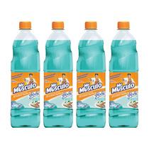 Mr Musculo Limpiapisos Glade Paraiso Azul X4