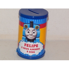 Kit Com 20 Cofrinhos Personalizados Thomas E Seus Amigos