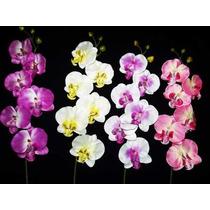 06 Orquideas Artificiais - Flores Atacado Artificial Arranjo