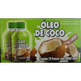 Óleo De Coco Extra Virgem 100% Natural 200ml Atacado C/12 Un
