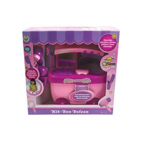 Kit Box Beleza Infantil Beleza Girls Educativo - Bs Toys