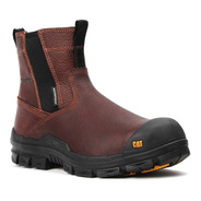 Zapato Caterpillar Throttle Nano Café Casquillo Waterproof