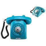 Telefone Residencial Com Fio Fixo Amarelo Vintage Antigo