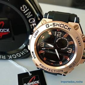 26c38a83157 Relógio Invicta Replica Primeira Linha. Rio de Janeiro · Relógio Masculi  Grande Aço Pulseira De Borracha