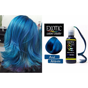 Tonalizante Tinta Exotic Color Sem Amônia Azul Atlantic 120g