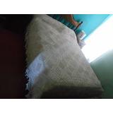 Colcha Antigua Tejida Al Crochet 2,30m X 2,60m Impecable