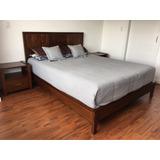 Vendo Dormitorio Marca Fadel Queen Size 2 1/2 Plazas