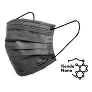 Barbijos Gris Ion Positivo Con Nanopartículas Mascarilla X9