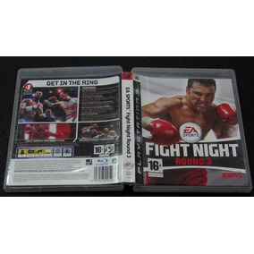 Fight Night Round 3 Ps3 Excelente Estado