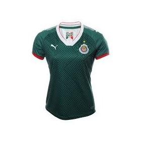 Jersey Original Puma Chivas Guadalajara 3era Dama Verd 17-18