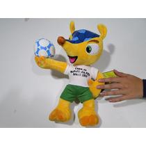 Boneco Fuleco 35cm Altura Selo Visa Futebol Olimpiada Neymar