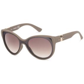 Diesel Cat Eye, Gafas de Sol para Mujer, Marrón (Blonde Havana), 57