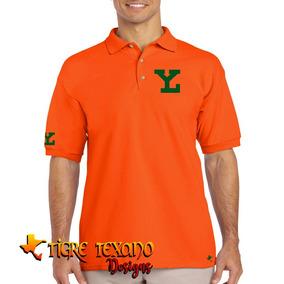 Playera Polo Leones De Yucatán Beisbol Tigre Texano Designs