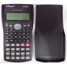 Calculadora Científica Kenko Kk-82ms 240 Funções + Capa Top
