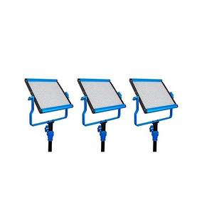 Panel Dracast S Series Bi-color Led500 Vídeo Kit De 3 Luces,