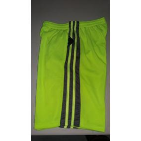 Pantaloneta Basketball 6 Th Man Color Neon-gris Talla S