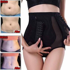 Las Mujeres Adelgazar Pantalones Cintura Alta... (black, L)