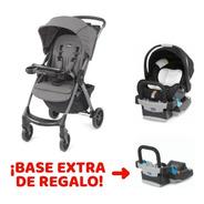 Set Paseo Cochecito Mini Bravo Plus + Base Keyfit De Regalo