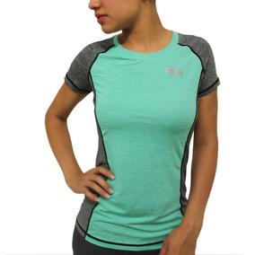 Camiseta Bl3004-711 Freerunning Para Mujer Verde Menta